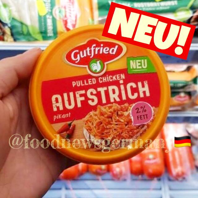 Gutfried Pulled Chicken Aufstrich