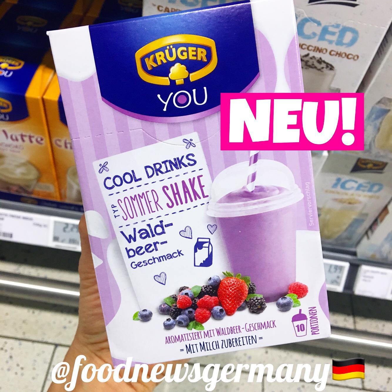 Krüger You Cool Drinks Waldbeer-Geschmack