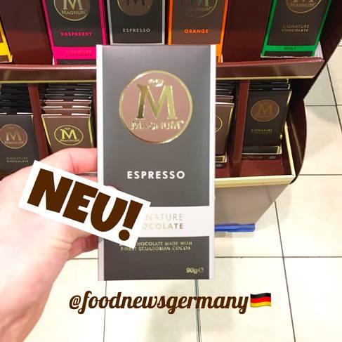 Magnum M Tafelschokolade Espresso