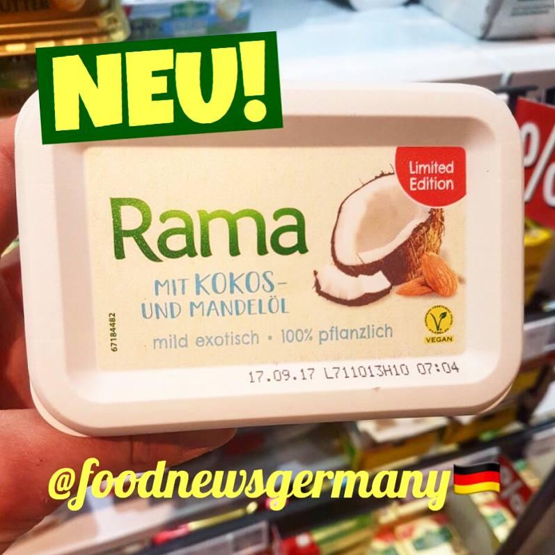 Rama mit Kokos- und Mandelöl