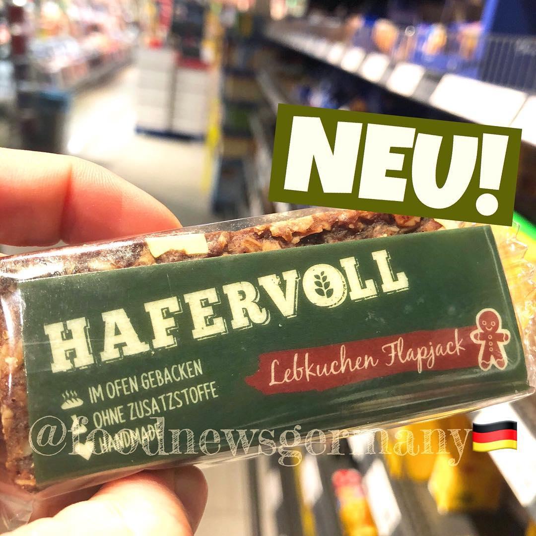 HAFERVOLL LEBKUCHEN FLAPJECK