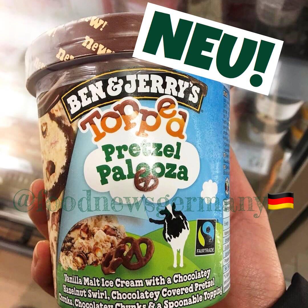 Ben & Jerrys Topped Pretzel Palooza