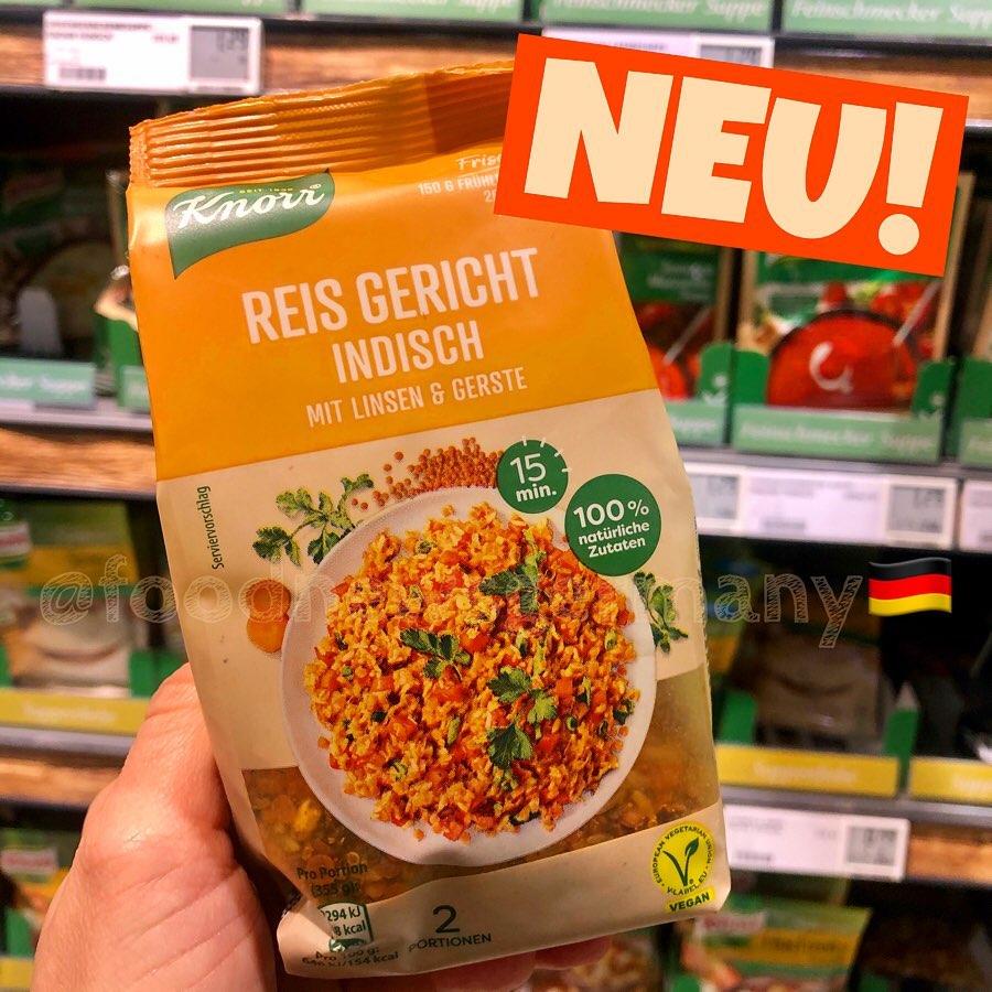 Knorr Reis Gericht