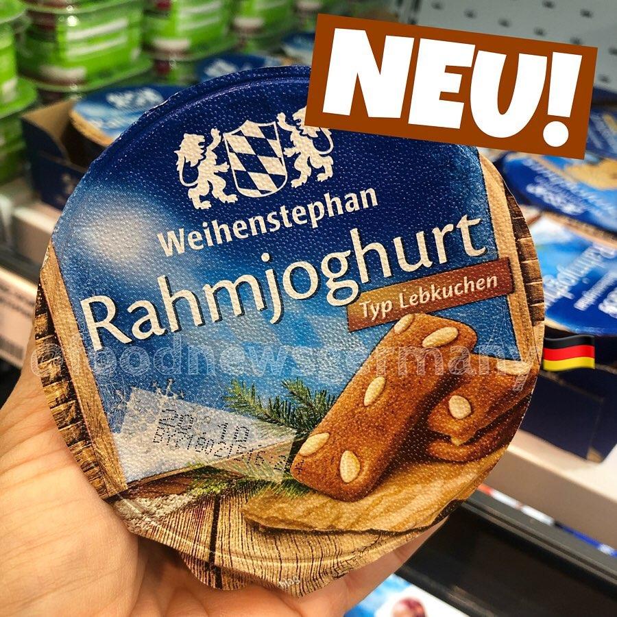 Weihenstephan Rahmjoghurt Typ Lebkuchen