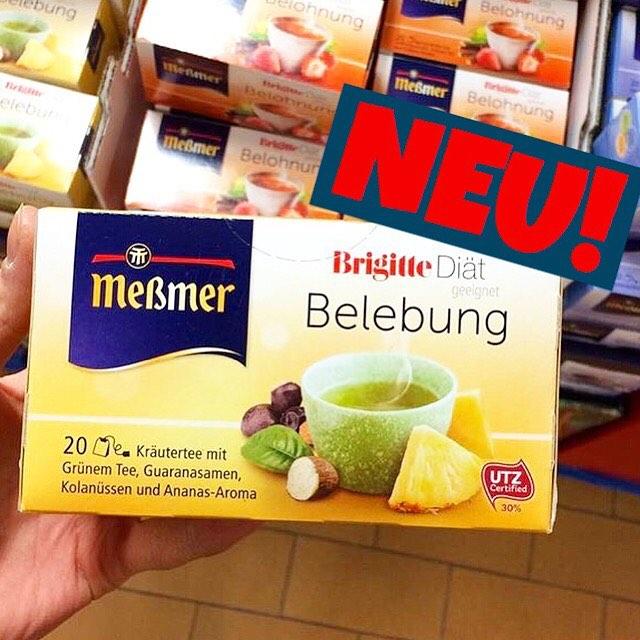 """Meßmer Tee """"Belebung"""" - Brigitte Diät"""