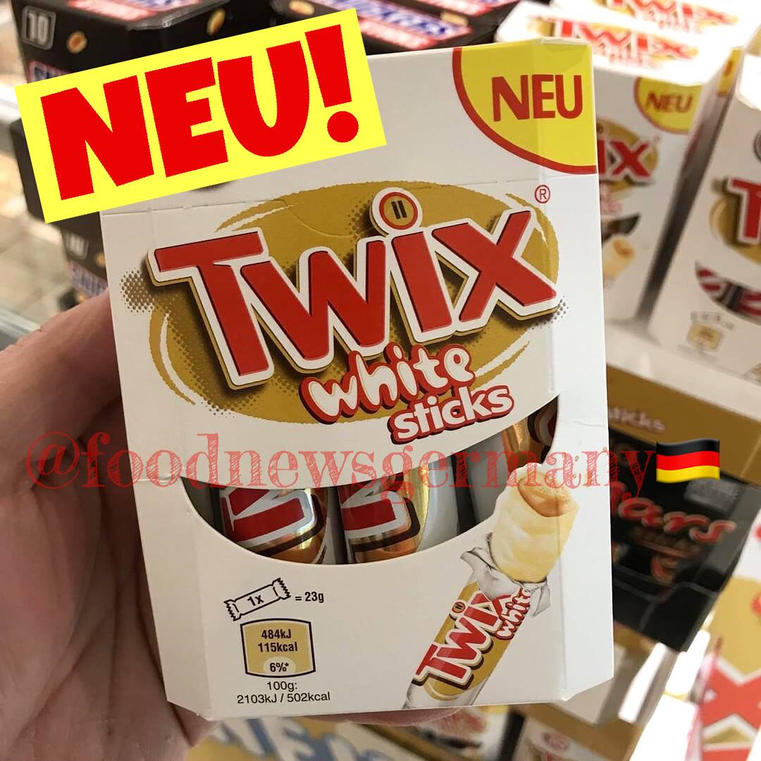 TWIX white Sticks