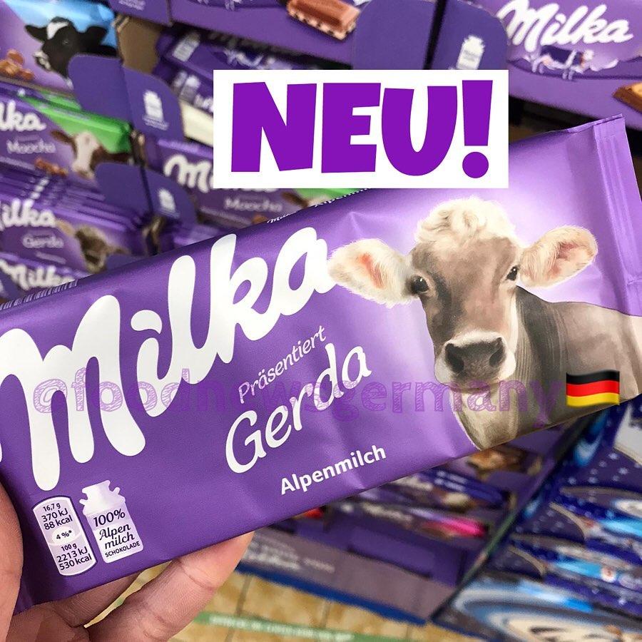 Milka Schokolade Limited Edition