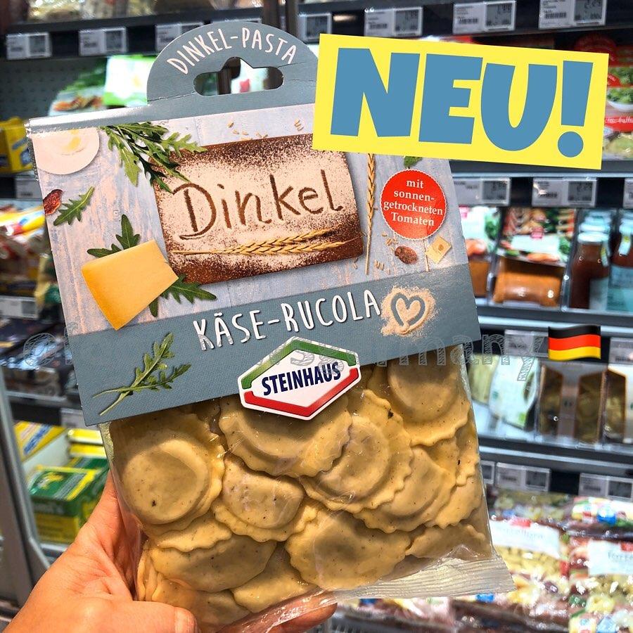 Steinhaus Dinkel Käse-Rucola Pasta
