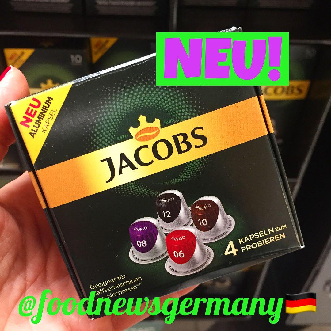 Jacobs Kaffeekapseln Aluminium