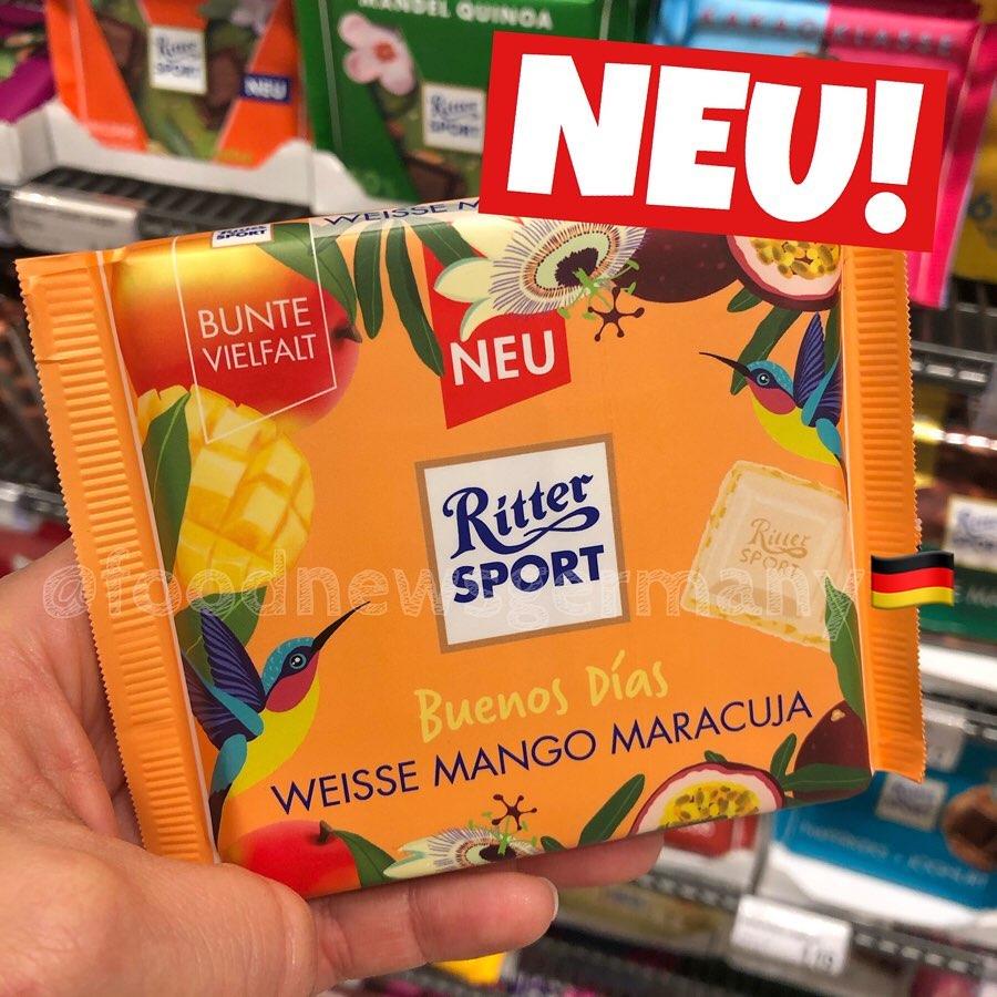 Ritter Sport Fernweh Edition Mango Maracuja