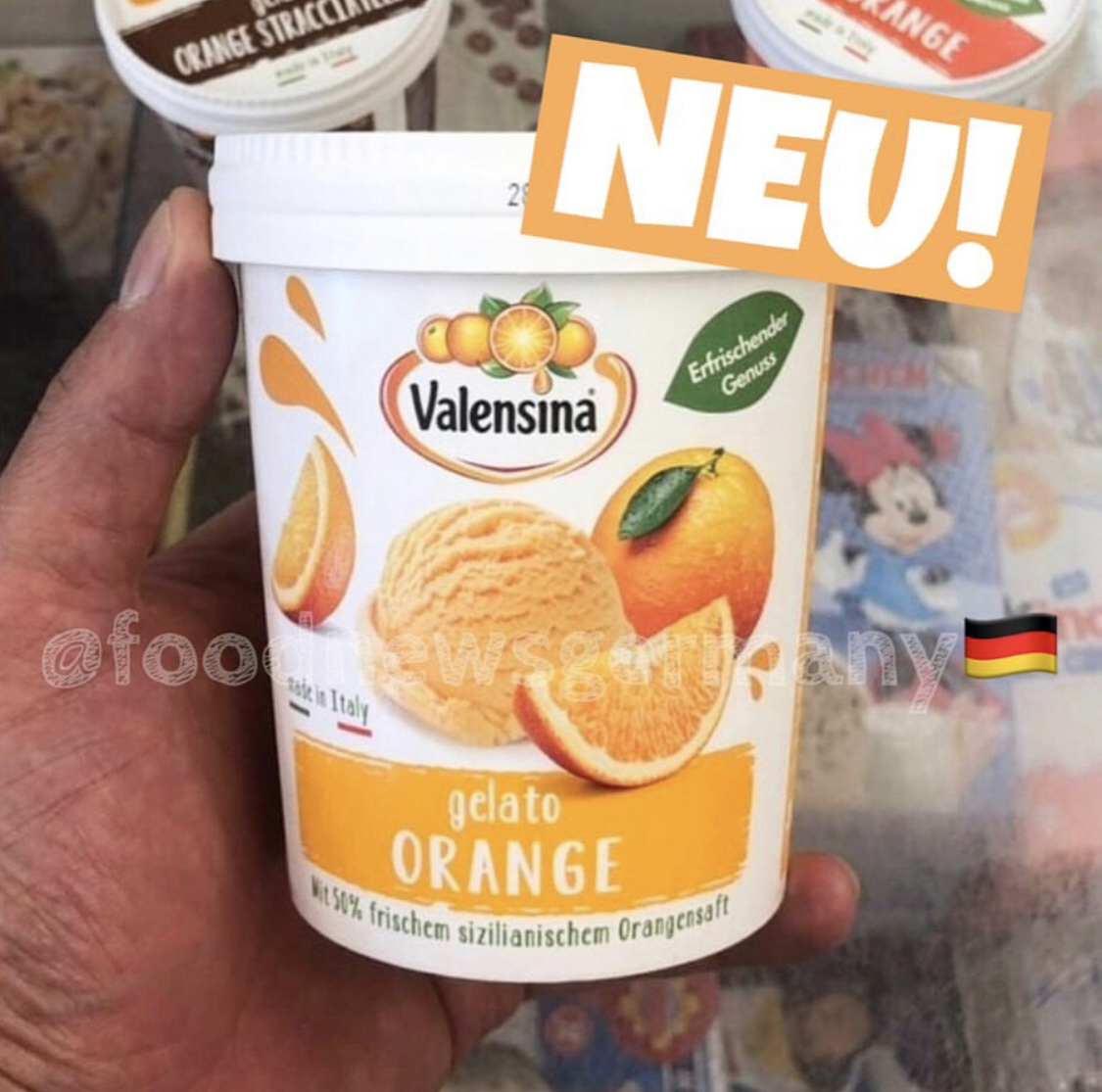 Valensina Eis Gelato Orange