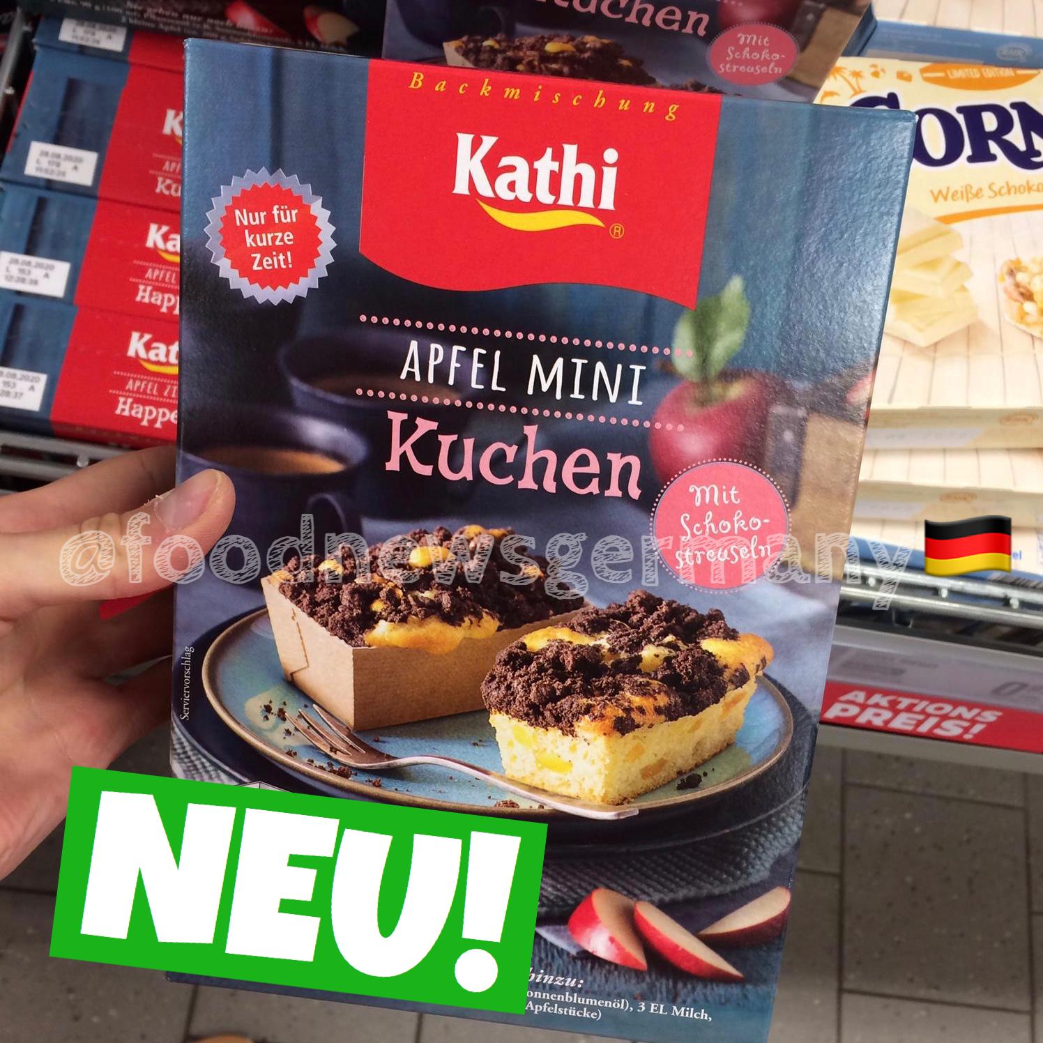 Kathi Apfel Mini Kuchen