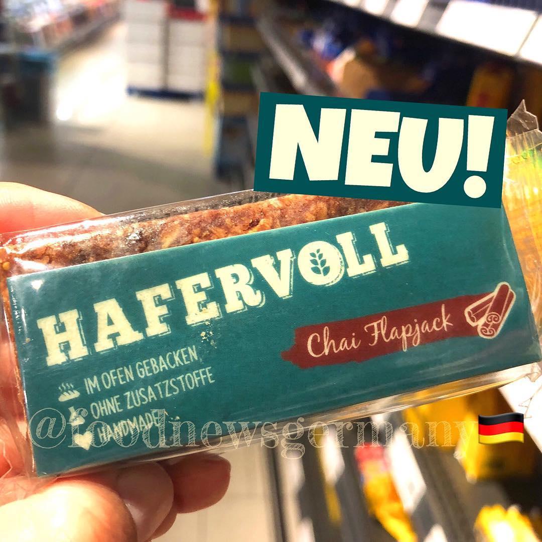 HAFERVOLL CHAI FLAPJECK