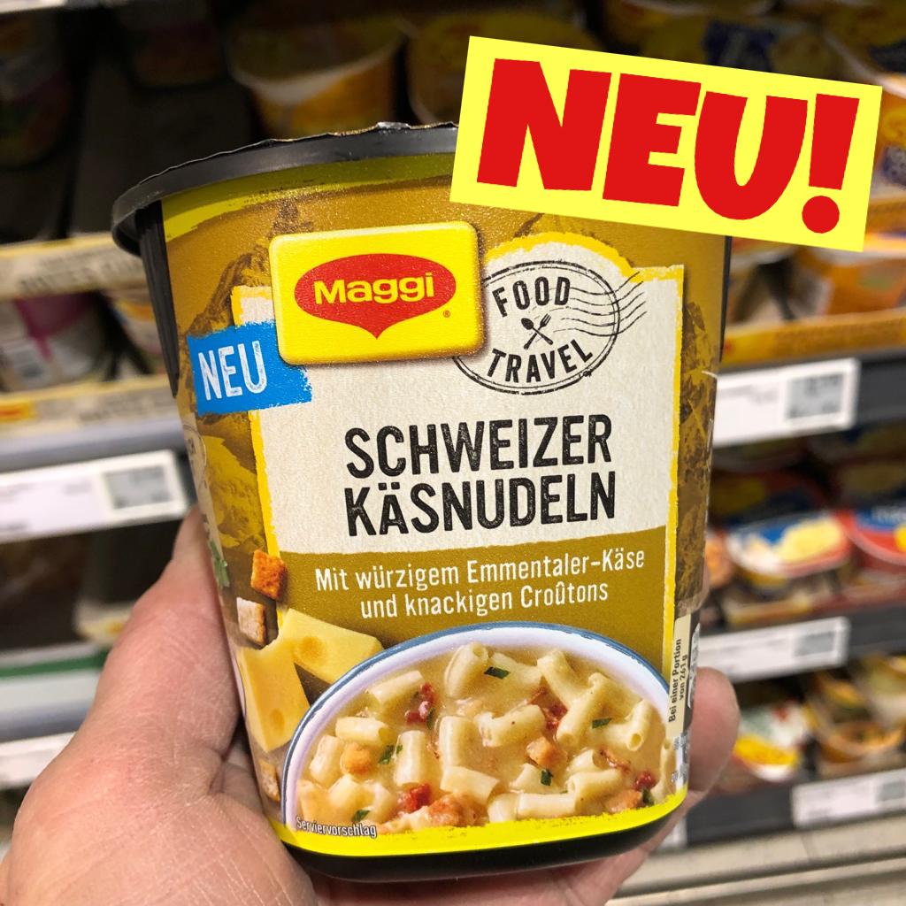 Maggi Schweizer Käsenudeln