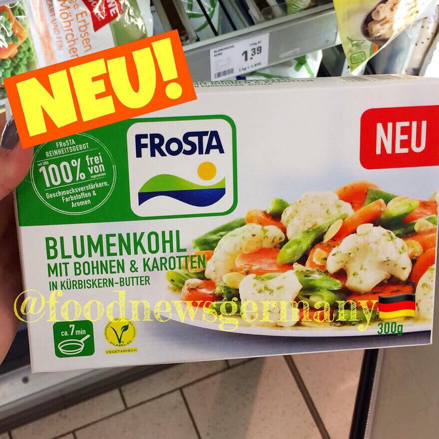 Frosta Blumenkohl mit Bohnen & Karotten