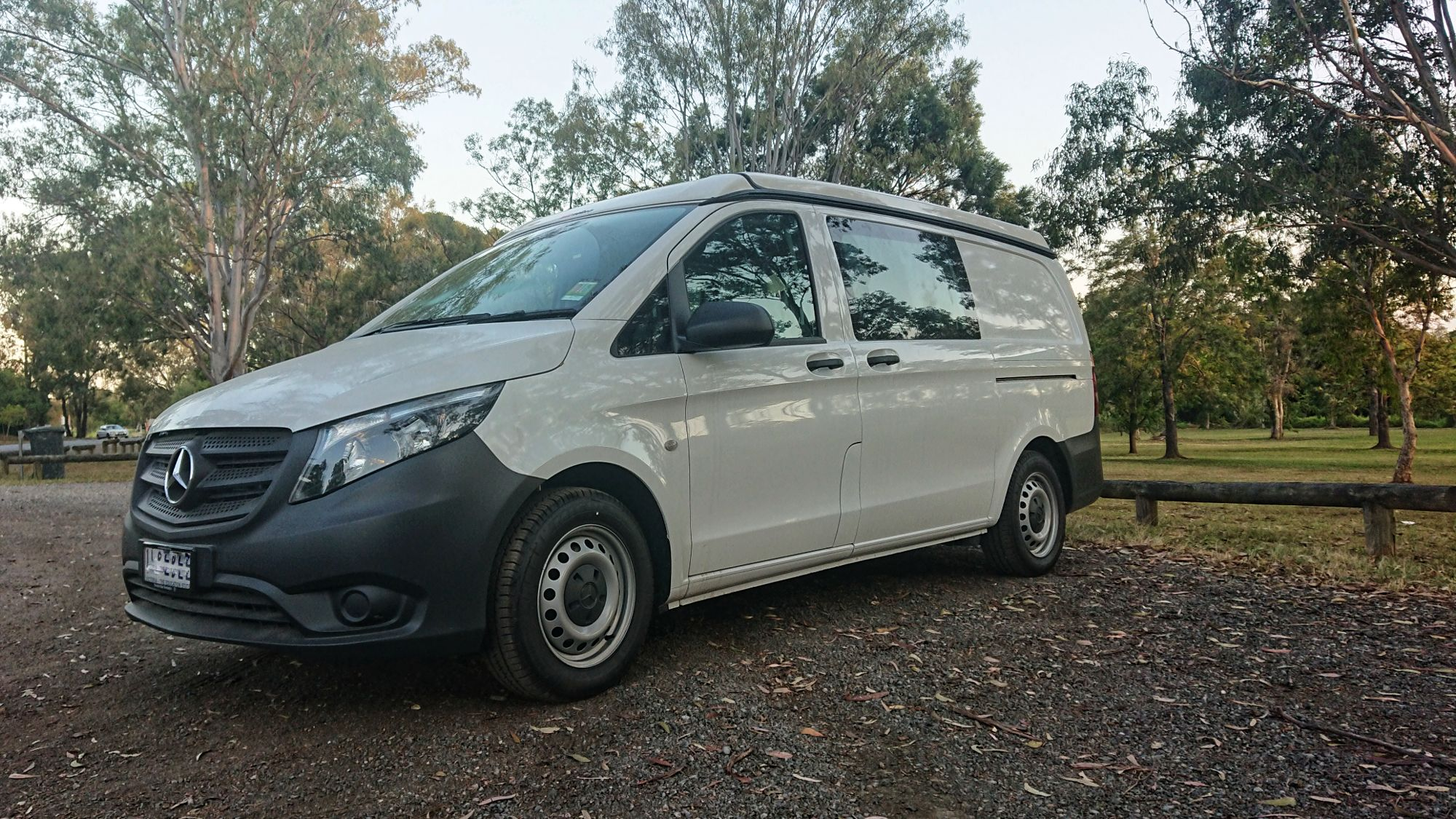 slim and stylish designed EURO roof Mercedes Vito Campervan