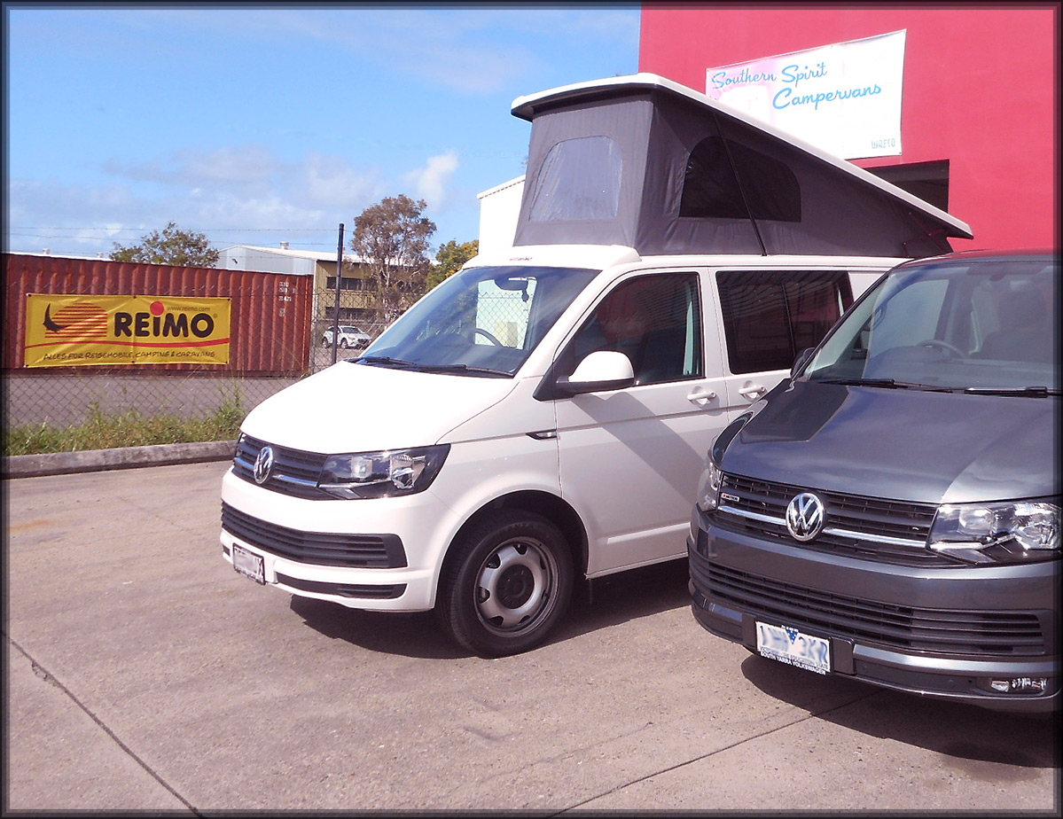 LWB Transporter Reimo roof