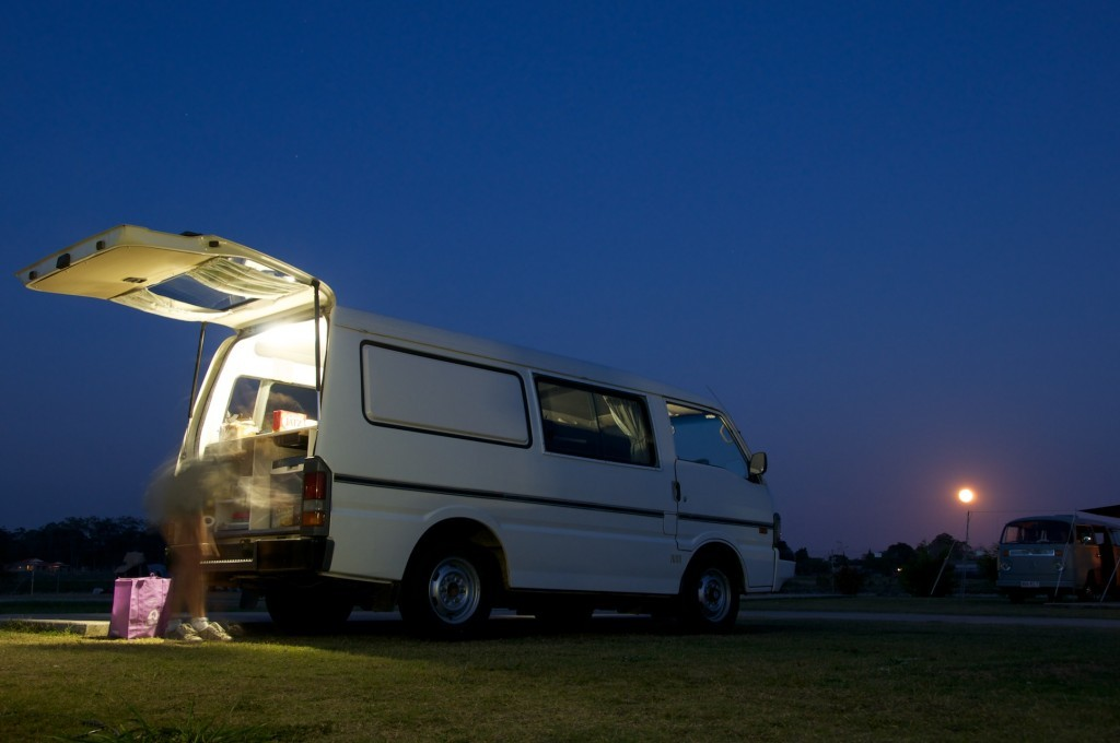 Running Free and enjoy the freedom of camping on 4 wheels