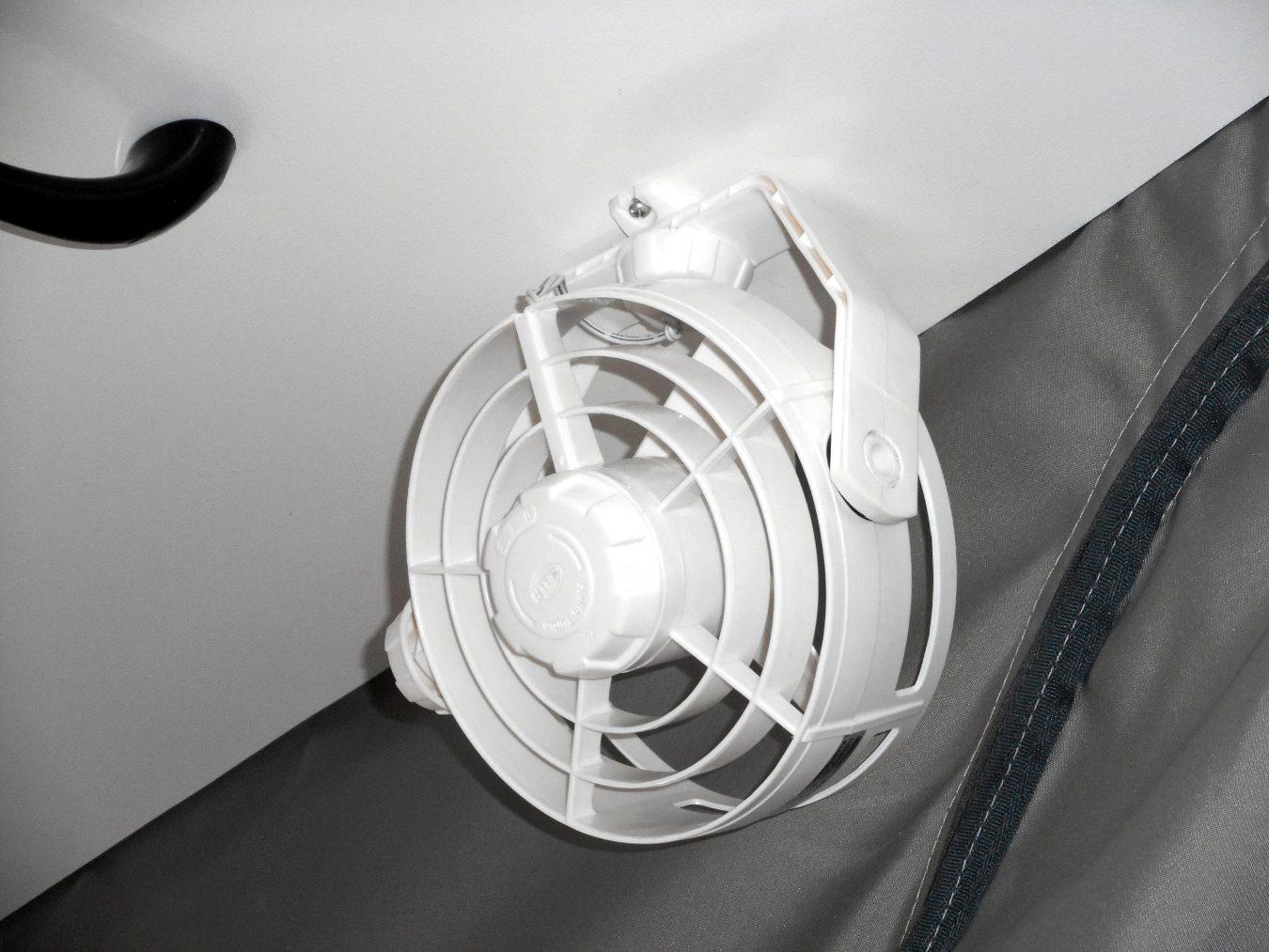 ceiling fans optional