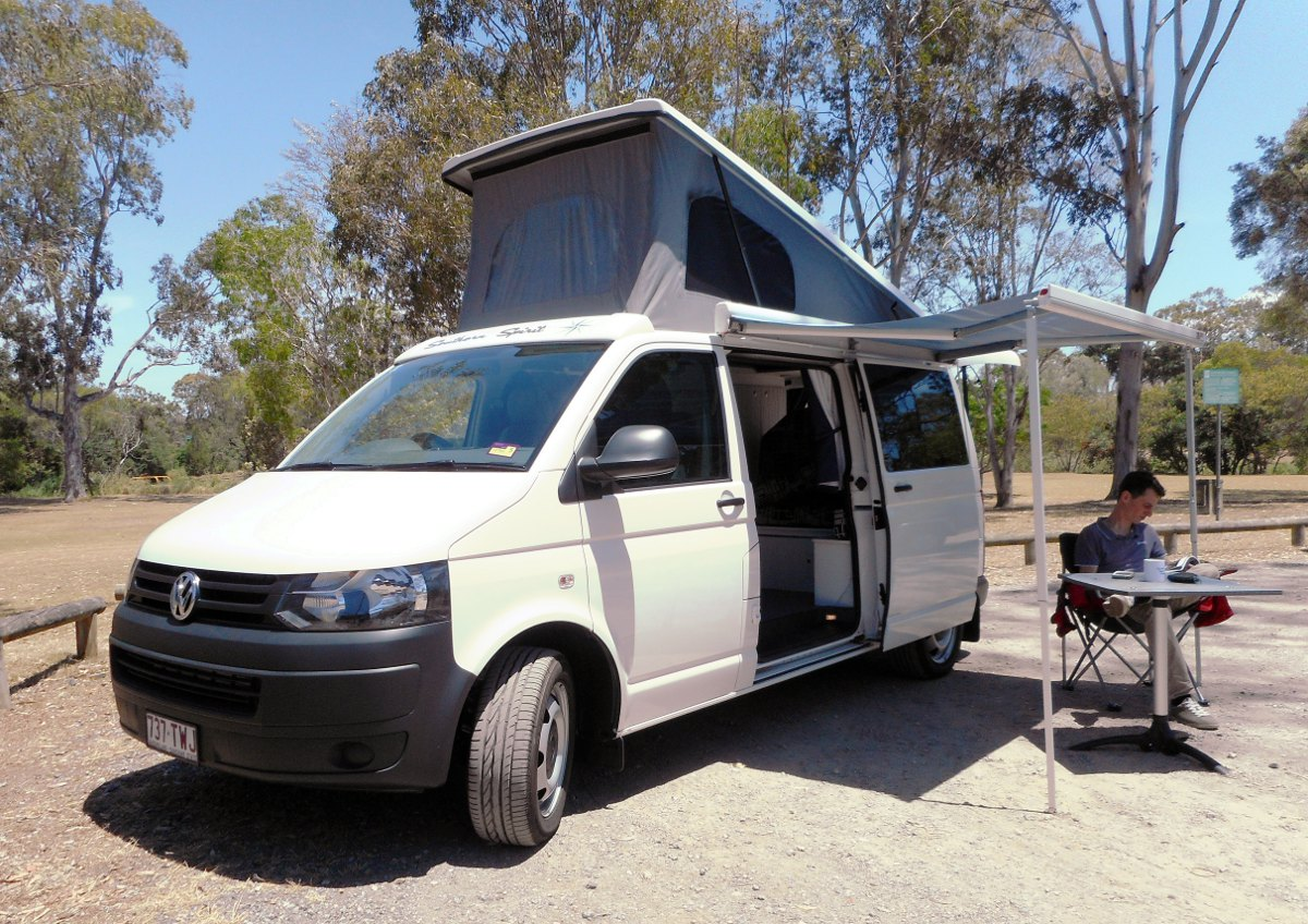 VW Transporter LWB roof conversion