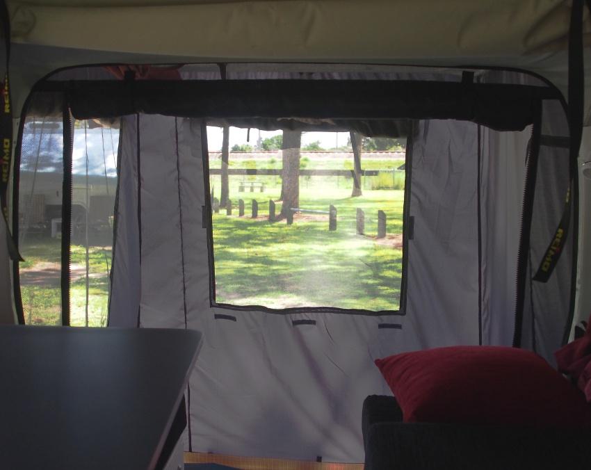 SSC tailgate rear tent for Hiace vans & van tents - Southern Spirt Campervans - true custom build RVu0027s