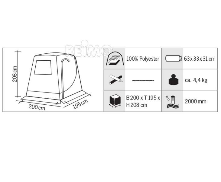 tailafte annex tent/ extra room for vans
