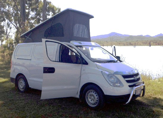 Ready for a relaxed weekend with the Hyundai Iload