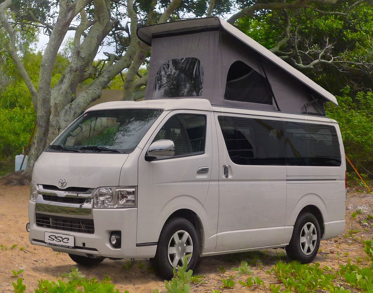 Toyota Hiace - Southern Spirt Campervans - true custom build RV's