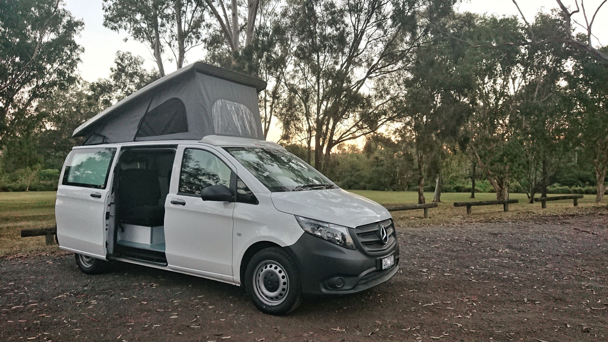 Mercedes Vito Campervan conversion - Australia