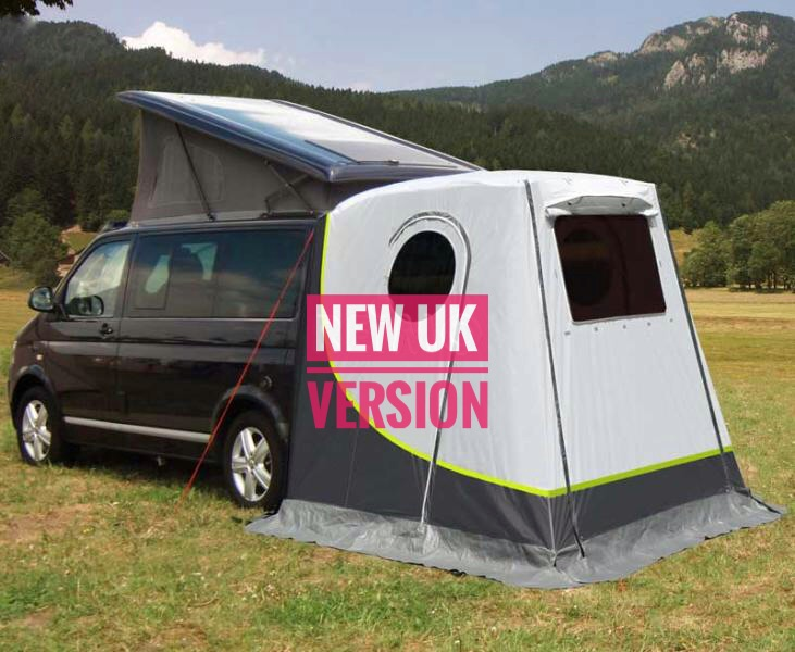 new Classic PLUS  tailgate throw over tent for tailgate vans