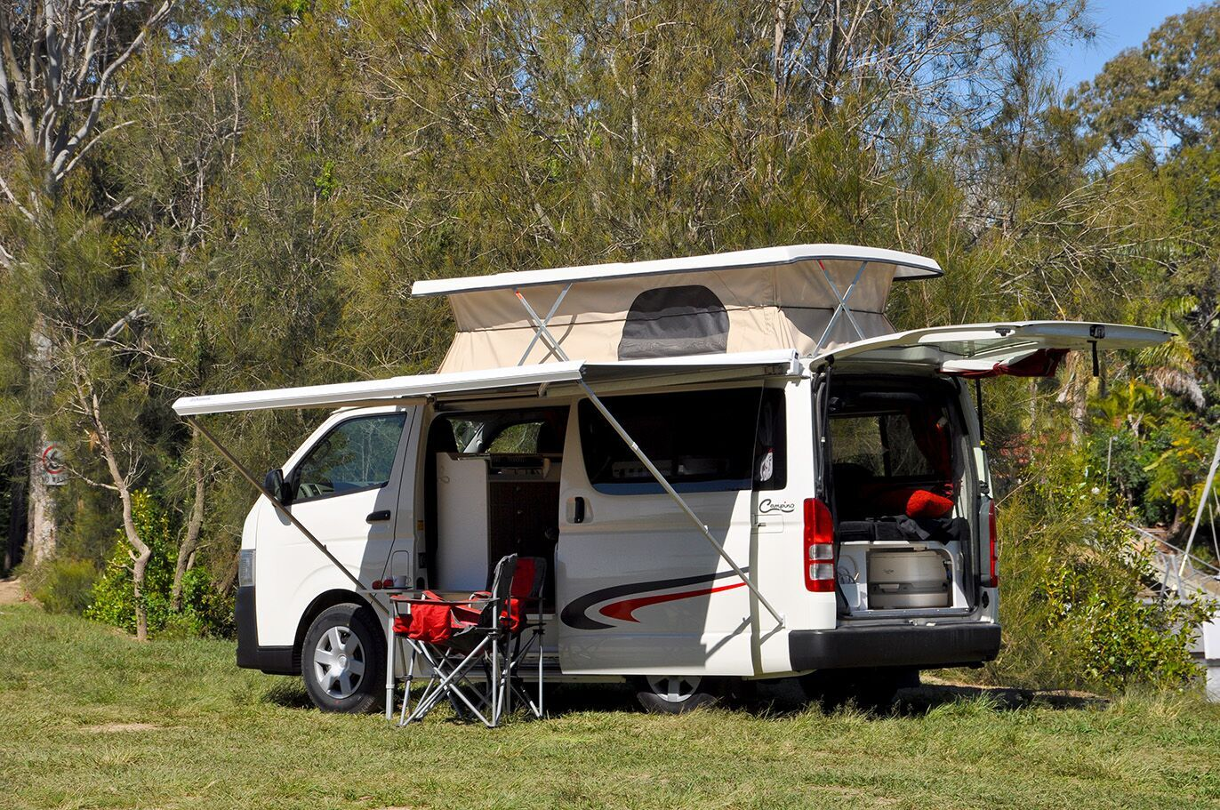 Toyota Hiace - Southern Spirt Campervans - true custom build RV's