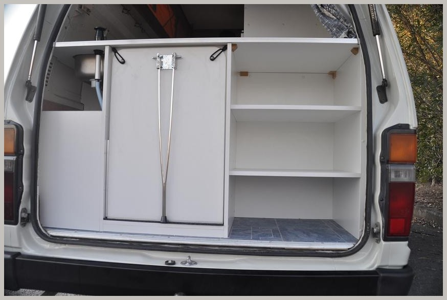 storage accessable from the tailgate