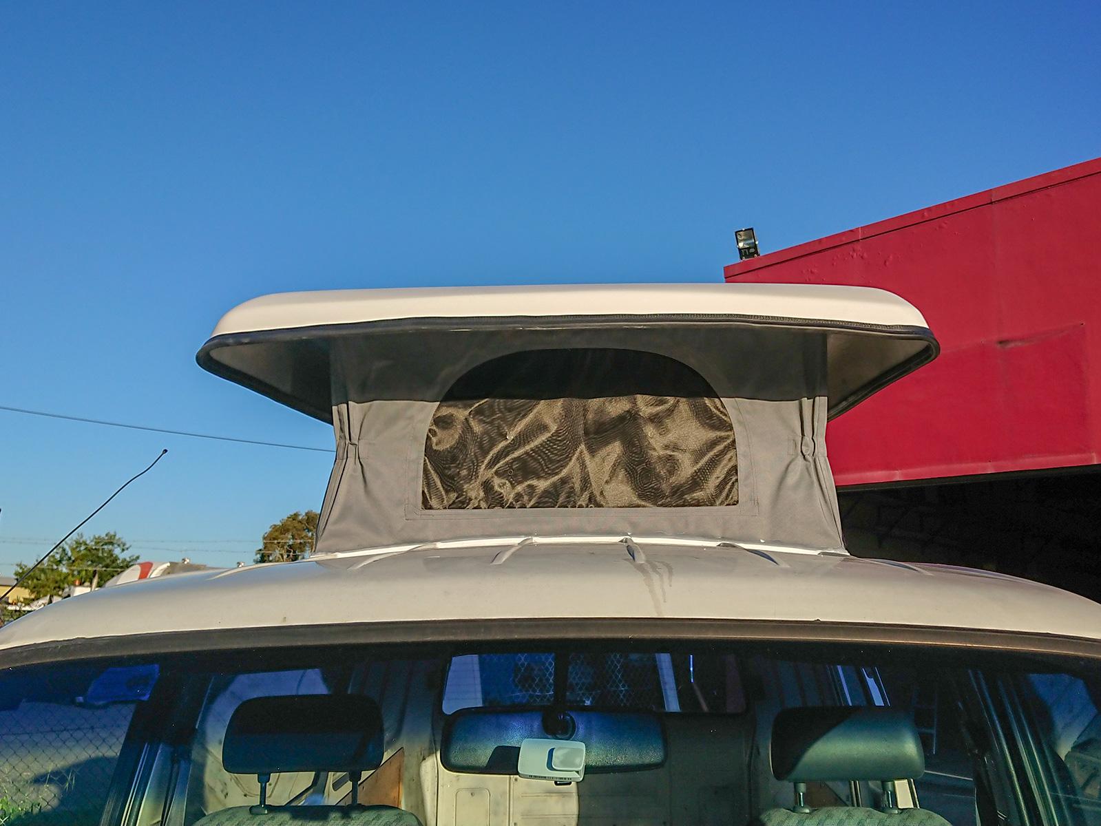 Universal Mushroom roof - fit to 100 series Hiace