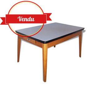Gande, table, de, salle ,a ,manger, formica, vintage,1950,1940, 1960