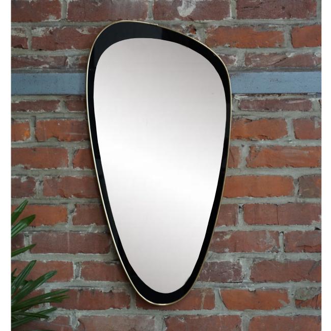 Miroir rétroviseur asymétrique 1960