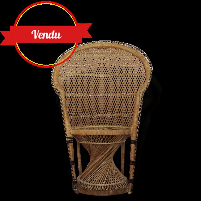 fauteuil en osier pour enfant style emmanuelle majdeltier boutique en ligne. Black Bedroom Furniture Sets. Home Design Ideas