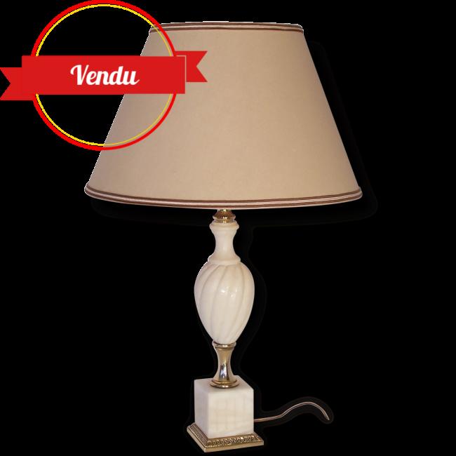 Lampe Marbre Et Laiton Majdeltier Boutique En Ligne