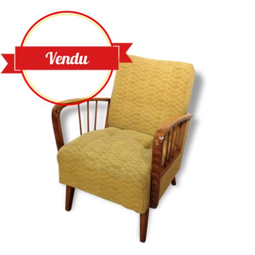 fauteuil cocktail scandinave majdeltier boutique en ligne. Black Bedroom Furniture Sets. Home Design Ideas