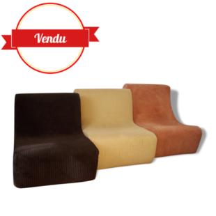 chauffeuse modulable,chauffeuse mousse, fauteuil 1970, fauteuils 1970, chauffeuse monobloc, chauffeuse vintage, chauffeuse 1970, lounge, fauteuil lounge, seventies,70, vintage, salon vintage