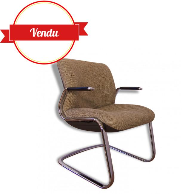 Fauteuil De Bureau Vintage Marque Strafor MAJDELTIER Boutique En - Fauteuil de bureau vintage