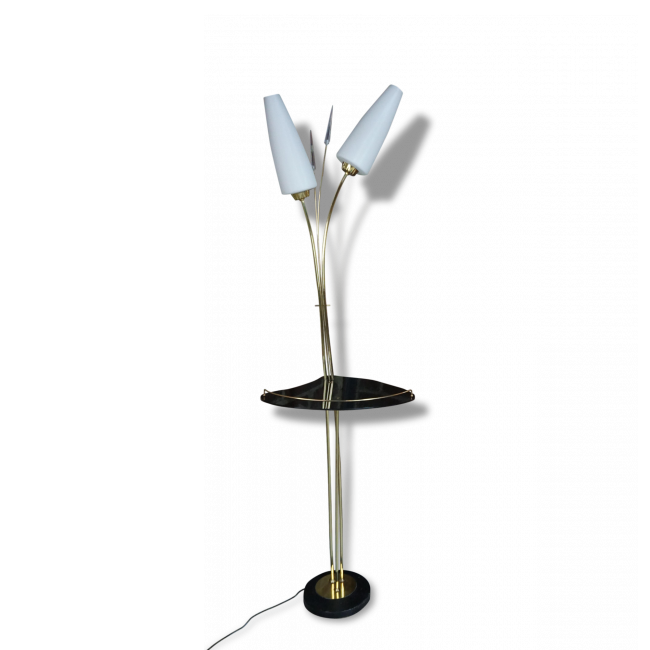 lampadaire annees 50 en laiton majdeltier boutique en ligne. Black Bedroom Furniture Sets. Home Design Ideas