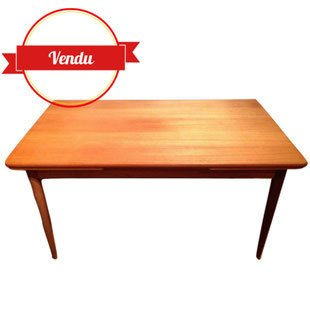 Table ,scandinave ,teck, 1967,1960,vintage