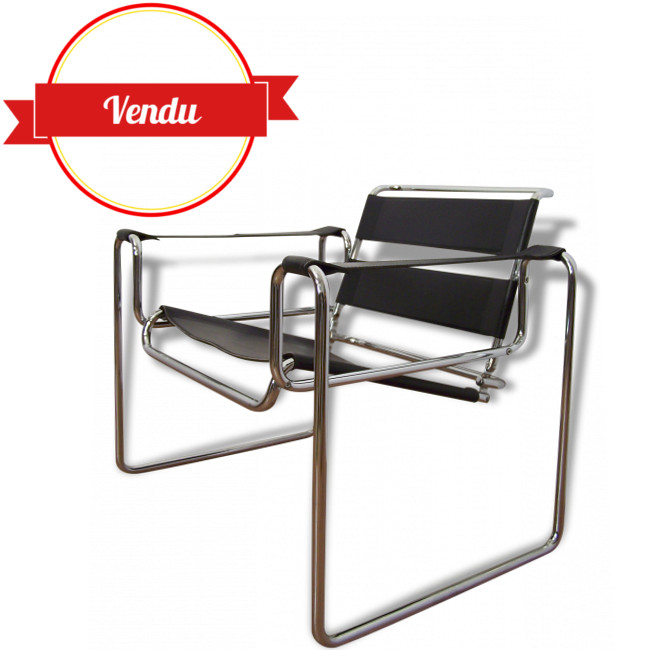 fauteuil lounge design marcel breuer majdeltier. Black Bedroom Furniture Sets. Home Design Ideas
