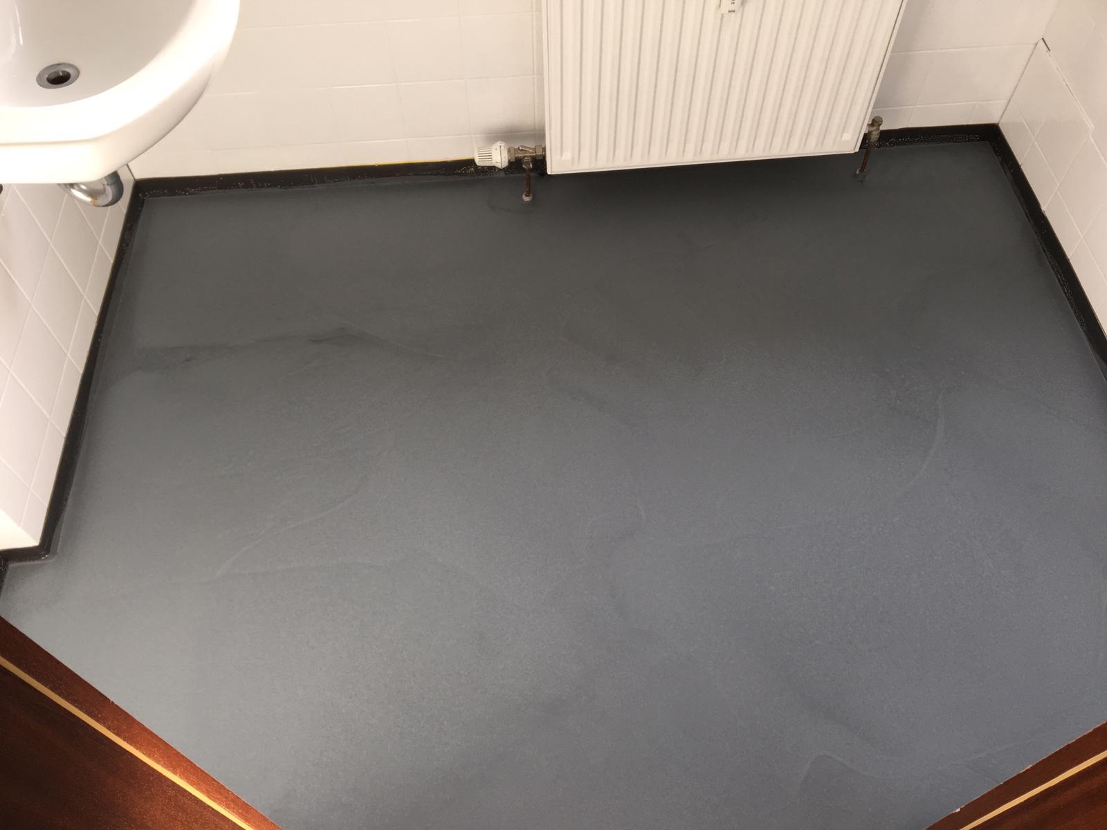 Fugenloser Fußboden - auch in klein sehr modern