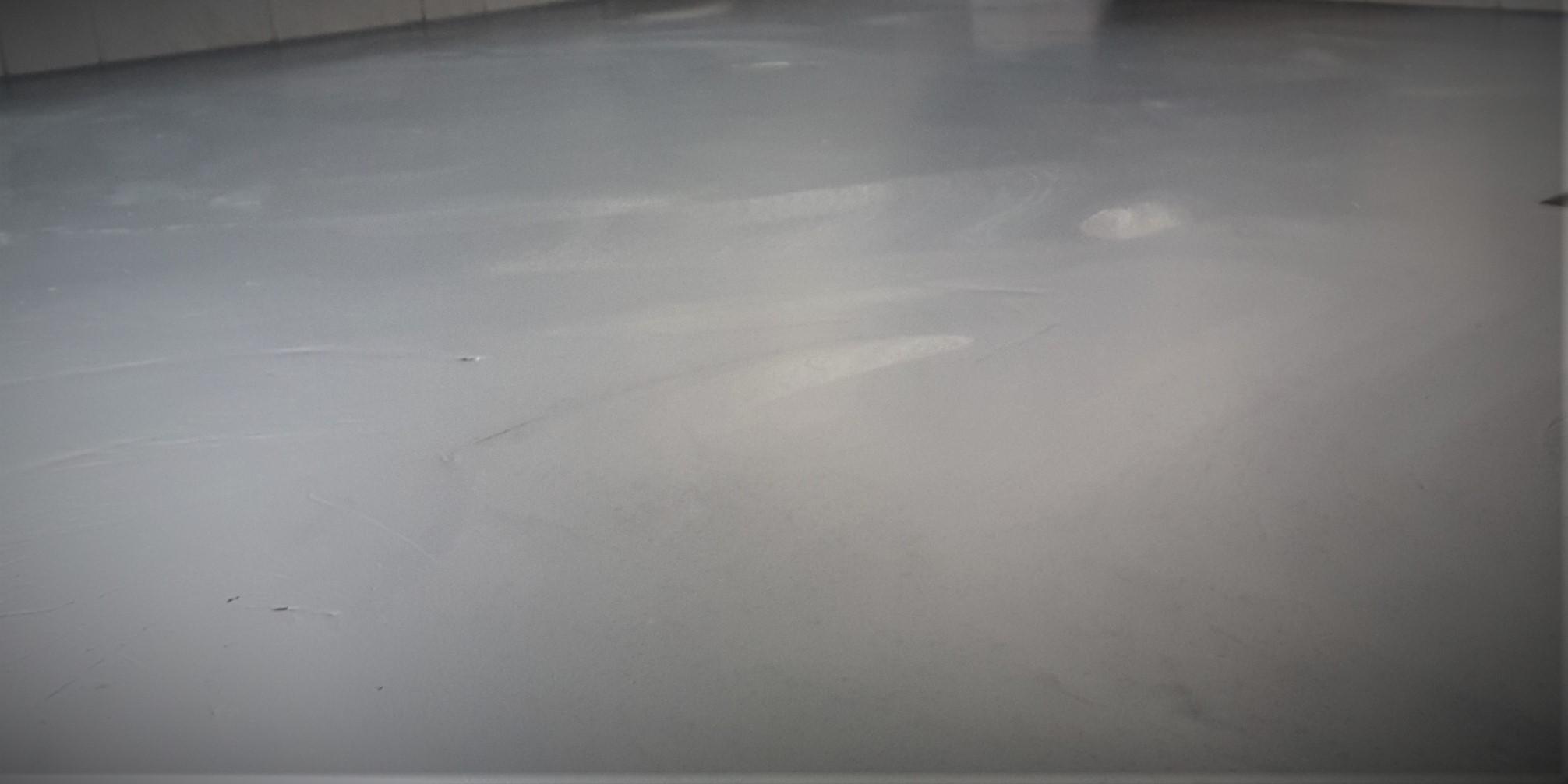 Fugenloser Fußboden - zweifarbiger Farbverlauf