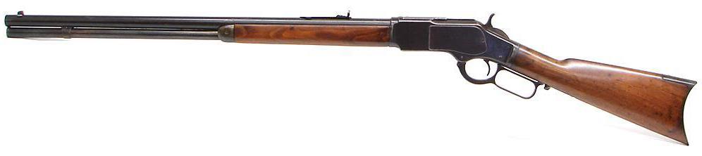 Winchester 73 – Unterhebelrepetierer – Seitenansicht