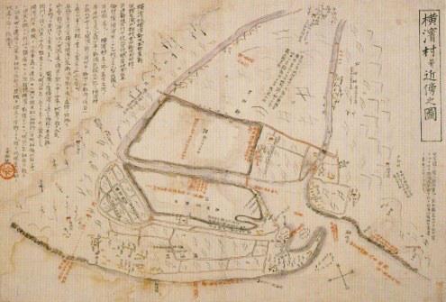 横浜村井近傍の図