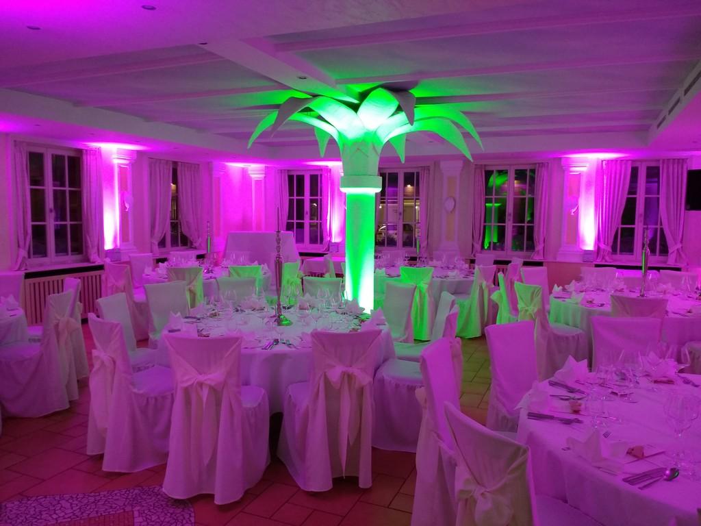Ambiente Beleuchtung Hochzeit