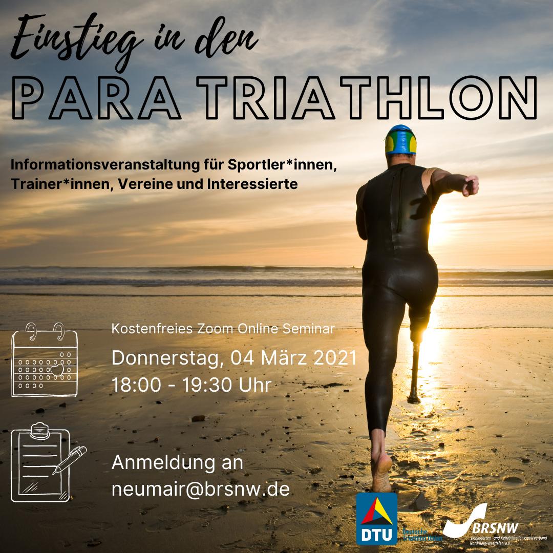Einstieg in den Para-Triathlon