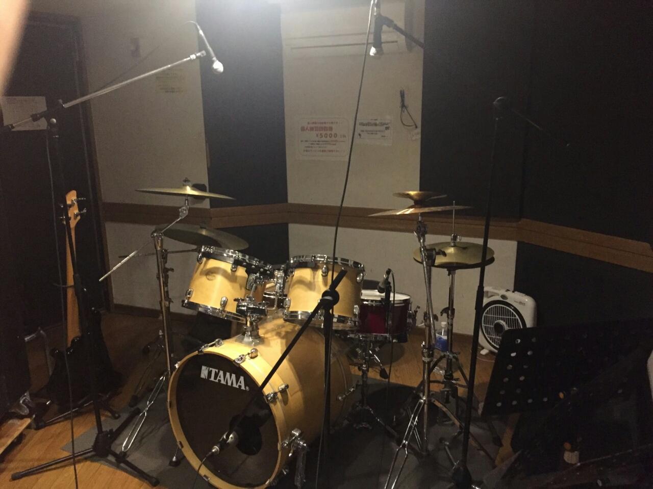 290213_ドラムのマイキング